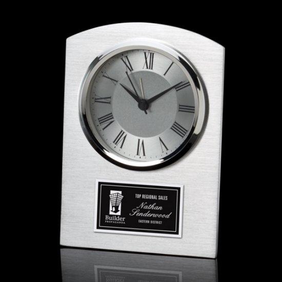 Carreno Clock - Aluminum