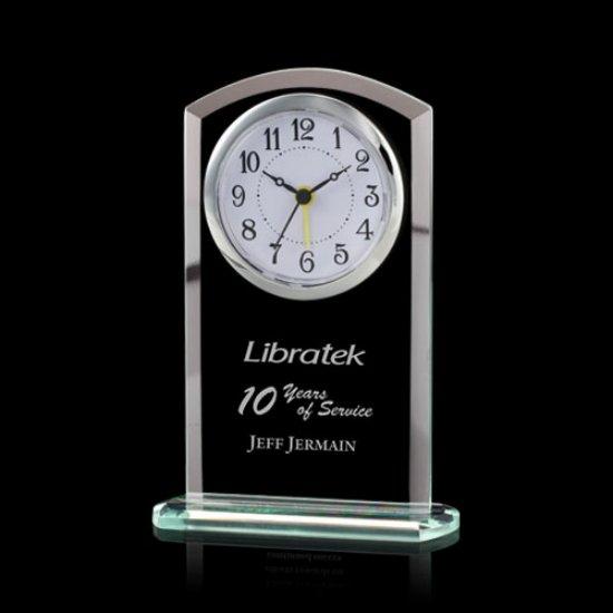 Derby Clock - Jade