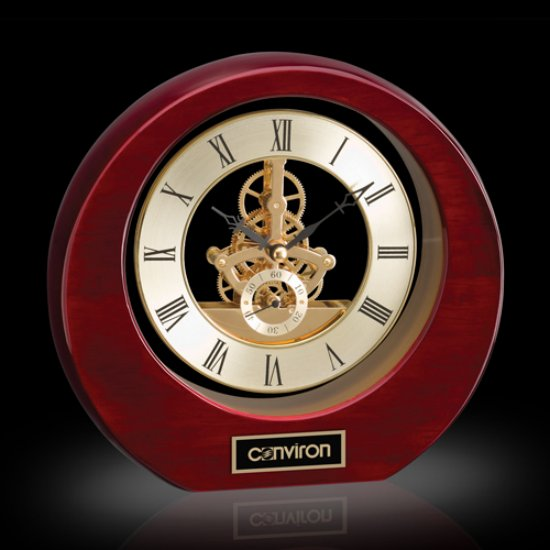 Catarina Clock - Rosewood