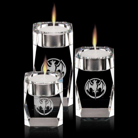 Abbey Candleholders - Optical (Set of 3)