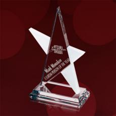 Custom Corporate Acrylic Awards - Abstract Star