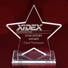 Custom Corporate Acrylic Awards - Polaris Star Award