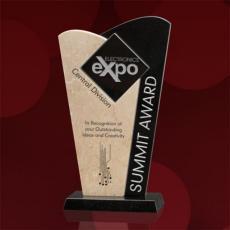 Custom Corporate Acrylic Awards - Hanneman Award
