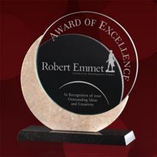 Custom Corporate Acrylic Awards - Bordeaux Award