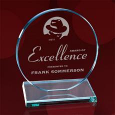Custom Corporate Acrylic Awards - Elgin Award
