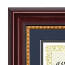 Certificate Frames - Bazille