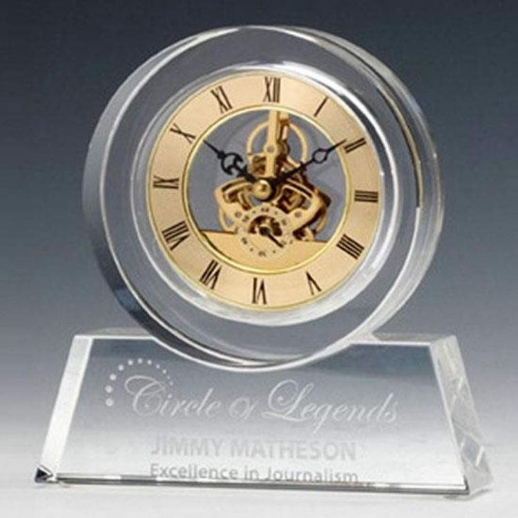 Tondo Crystal Clock