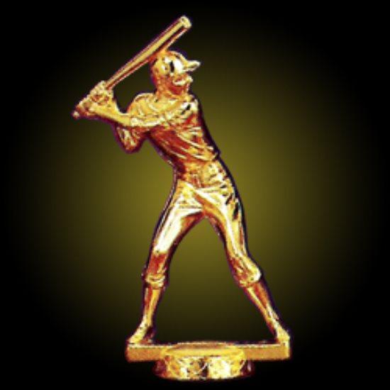 #2 Baseball Batter - Gold
