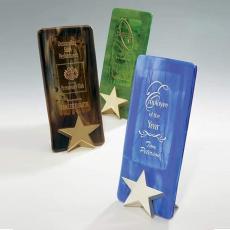 Art Glass Awards & Trophies - Bright Star Award