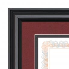 Certificate Frames - Cottingham - Black