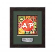 Framed Awards & Plaques - Eldridge -  Espresso Dark Walnut