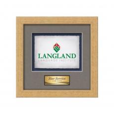Framed Awards & Plaques - Eldridge -  Antique Gold