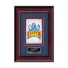 Framed Awards & Plaques - Calder -  Mahogany