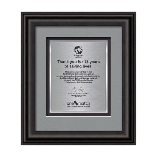 Cardoba Certificate TexEtch Vert - Black