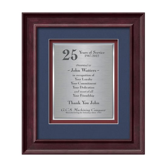 Calder Certificate TexEtch Vert - Mahogany