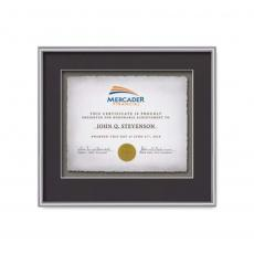 Framed Awards & Plaques - Fenestra -  Silver
