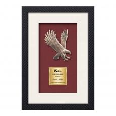 Framed Awards & Plaques - Primrose Eagle (S) - Carbon Fiber