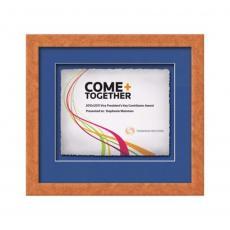 Framed Awards & Plaques - Eldridge -  Light Walnut