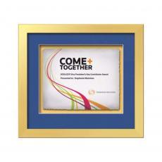 Framed Awards & Plaques - Eldridge -  Gold