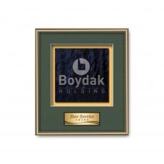 Customizable Plaque Awards - Fenestra -  Gold