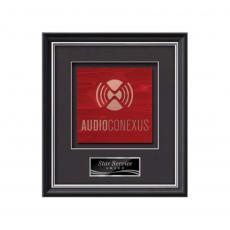 Framed Awards & Plaques - Baron -  Black/Silver