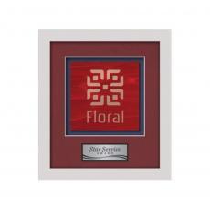 Framed Awards & Plaques - Primrose -  White