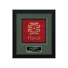 Framed Awards & Plaques - Primrose -  Black
