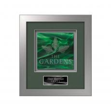 Framed Awards & Plaques - Eldridge -  Silver