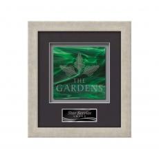 Framed Awards & Plaques - Eldridge -  Antique Silver
