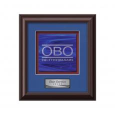 Framed Awards & Plaques - Monarch -  Mahogany