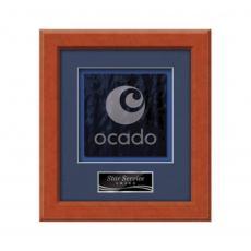 Framed Awards & Plaques - Myriad -  Light Walnut