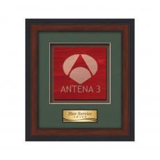 Framed Awards & Plaques - Jasper -  Dark Walnut