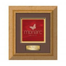 Customizable Plaque Awards - Terrene -  Antique Gold