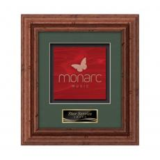 Framed Awards & Plaques - Terrene -  Dark Walnut