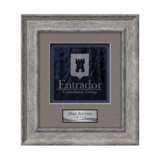 Framed Awards & Plaques - Calder -  Grey Oak