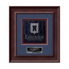Customizable Plaque Awards - Calder -  Mahogany