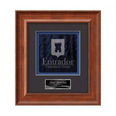 Framed Awards & Plaques - Calder -  Light Walnut