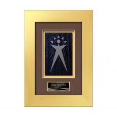 Customizable Plaque Awards - Premier -  Gold
