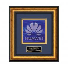 Framed Awards & Plaques - Grazia -  Black/Gold