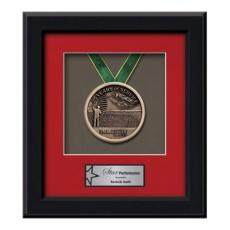Framed Awards & Plaques - Myriad Medallion - Black