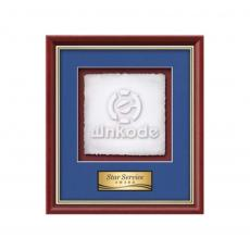 Framed Awards & Plaques - Baron -  Mahogany/Gold