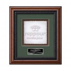 Framed Awards & Plaques - Deco -  Walnut