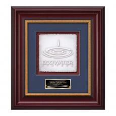 Customizable Plaque Awards - Montalto -  Mahogany