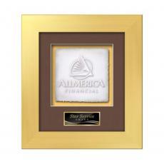 Framed Awards & Plaques - Premier -  Gold
