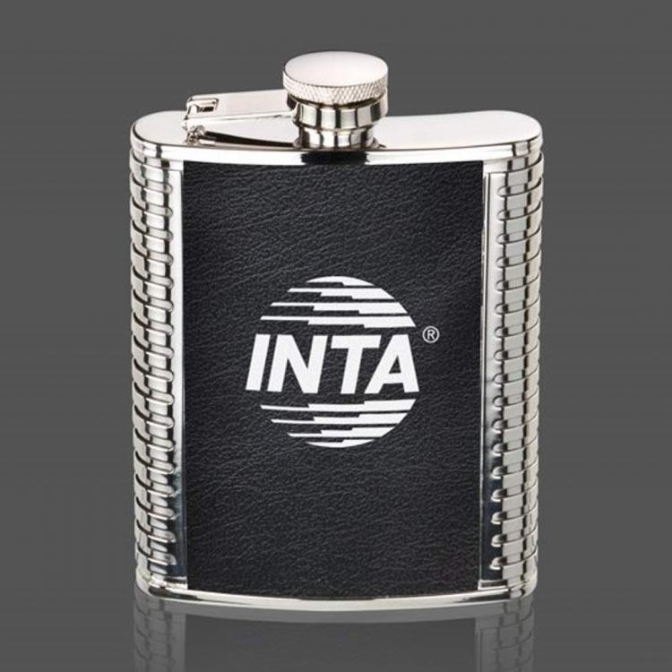 Trubner Hip Flask - Black