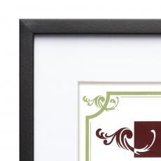 Certificate Frames - Burnell - Black