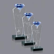 Custom-Engraved Crystal Awards - Endeavour Award