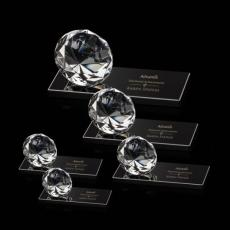 Diamond Awards - Diamond on Black Base - Optical