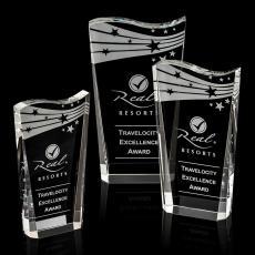 Custom-Engraved Crystal Awards - Violetta Award
