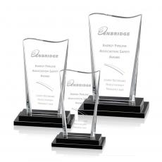 Custom-Engraved Crystal Awards - Serafina Award
